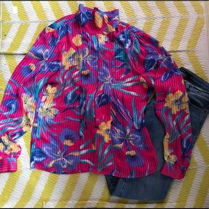 Pretty in Pink Silk Blouse